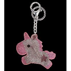 Einhorn klein silber/rosa